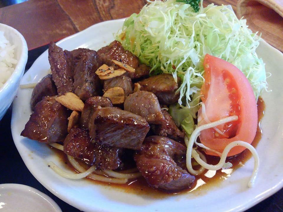 国産牛サイコロステーキ